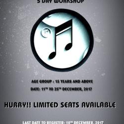 December 2017 Workshop