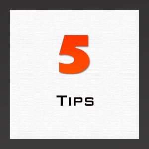 5 tipsarticle
