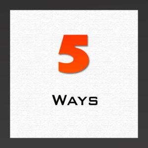 5 waysarticle
